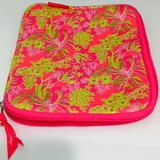 Lilly Pulitzer Accessories | Ipad Cover By Lilly Pulitzer Tropical Theme | Color: Green/Pink | Size: Os