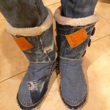 Levi's Shoes | Custom Womens Winter Boots | Color: Blue | Size: As Ordered