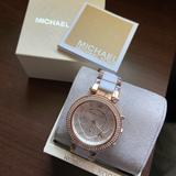 Michael Kors Accessories   Michael Kors Womens Womens Gold-Tone Watch Mk5774   Color: Gold   Size: Os