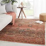 """Jaipur Living Caruso Oriental Pink/ Rust Runner Rug (2'6""""X8')"""
