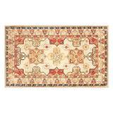 My Magic Carpet Machine Washable Accent Rug Ottoman Natural 3X5
