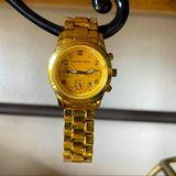 Michael Kors Accessories | Michael Kors Gold Yellow Face Bracelet Watch | Color: Gold/Yellow | Size: Os