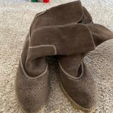 American Eagle Outfitters Shoes | Brown Suede Boots | Color: Brown | Size: 7.5