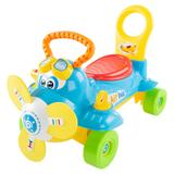 Lil' Rider Electronic Ride-On Toy Airplane, Multicolor