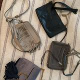 Rebecca Minkoff Bags   Assorted Purses - Rebecca Minkoff And Fossil   Color: Black/Gray   Size: Os