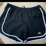 Adidas Shorts | Adidas Climalite Black Soccer Shorts With Logo, S | Color: Black | Size: S