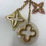 Louis Vuitton Accessories   Louis Vuitton Bag Charmkey Chain!   Color: Cream/Gold   Size: 6 Inches In Length