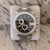 Gucci Accessories   Gucci G Chrono Diamond Bezel Men'S Watch   Color: Black/Silver   Size: Os