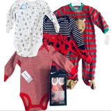 Nike Matching Sets   Baby Boy Nike Carters Christmas Gift Basket   Color: Black/Red/White   Size: 6mb
