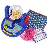 wpOP59NE Puzzle Game Brain Games Lottery Lucky Balls Bingo Game Machine Set Children Desktop Educational Toys Best Kids Teen Gifts