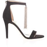 Viola Crystal-tassel Suede Sandals - Black - Jimmy Choo Heels