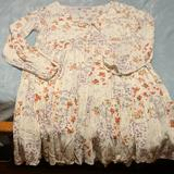 American Eagle Outfitters Dresses   Cream Floral Baby Doll Dress   Color: Cream/White   Size: S