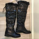 Michael Kors Shoes | New Michael Kors Knee High Brandy Snow Boots 7.5 | Color: Black | Size: 7.5