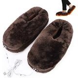 XXXVV 2-in-1 Shiatsu Foot and Back Massager with Heat - Kneading Feet Massager Machine with Heating Pad, Back Massage Cushion or Foot Warmer,Massagers for Back,Leg,Foot Pain Relief,Brown