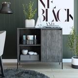 Mercury Row® Nason 1 Door Accent Cabinet Wood in Brown, Size 33.27 H x 36.22 W x 14.96 D in | Wayfair C5C62A24DE48413B96732C84C34595C4