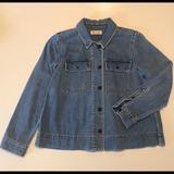 Madewell Jackets & Coats | Madewell Denim Jean Jacket: Chore Coat, Swing Coat | Color: Blue | Size: M