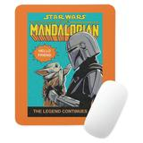 The Mandalorian Holding Child Comic Cover Mouse Pad Star Wars: The Mandalorian Customized - Offici