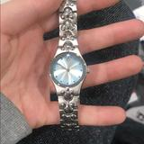 Disney Accessories | Disney Womens Watch | Color: Blue/Silver | Size: Os