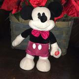 Disney Toys | Disney Mickey Mouse Dancing Sings | Color: Black/Pink | Size: 12 Inch Mickey