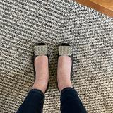 Kate Spade Shoes | Kate Spade Square Toe Chunky Low Heel Worn Once | Color: Black | Size: 7