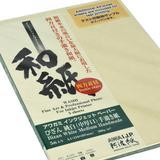 Awagami Factory Bizan Medium White Handmade Paper (A4, 8.3 x 11.7, 5 Sheets) 042942100