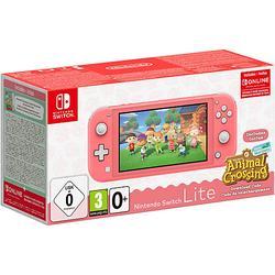 Nintendo Switch Lite Koralle & Animal Crossing: New Horizons-Edition koralle