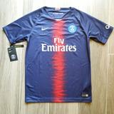 Nike Shirts & Tops | Nike Paris Psg Home Soccer Jersey Kids Xl 2018-19 | Color: Blue/Red | Size: Xlb