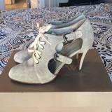 J. Crew Shoes   J.Crew Corrine Cutout Booties Suede 7   Color: Tan   Size: 7