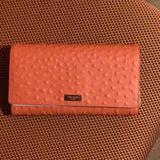 Kate Spade Bags | Kate Spade Wallet | Color: Orange | Size: 8.3 X 4.9 X 1