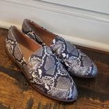 Madewell Shoes   Madewell Alex Loafer Snake Embossed Leatherae239   Color: Black/White   Size: 8