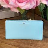 Kate Spade Bags   Kate Spade Slim Bifold Wallet   Color: Blue   Size: Os