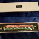 Victoria's Secret Jewelry | New In Box Victoria'S Secret Bracelet | Color: Gold | Size: Os