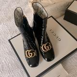 Gucci Shoes   Gucci Boots (Authentic)   Color: Black   Size: 6