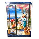 Disney Games | New Disney Japan Mickey & Minnie Mini Puzzle 8.5 | Color: Blue/Pink | Size: 6.5 X 8.5