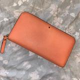 Kate Spade Bags   Kate Spade: Zip Around Wallet   Color: Orange   Size: Os