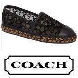 Coach Shoes   Coach Cleo Espadrilles   Color: Black   Size: 7.5