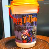 Disney Holiday | Disney Parks Happy Halloween Bucket | Color: Orange/Purple | Size: Os