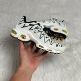 Nike Shoes | Nike Air Max Plus Tn Shark Womens Shoe Size 5.5 | Color: White | Size: 5.5