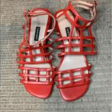 Nine West Shoes   Nine West Red Strappy Sandals   Color: Red   Size: 8