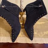 Nine West Shoes   Nwot Nine West Cute Blue Suede Booties W Size 5m   Color: Blue   Size: 5