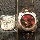Disney Accessories | Disney Pirates Of The Caribbean Watch | Color: Brown/Red | Size: Os