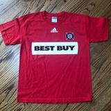 Adidas Shirts & Tops   Adidas Chicago Fire Mls Soccer T-Shirt   Color: Red   Size: Lb