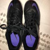 Nike Shoes   *Unworn* Nike Bomba Ii Indoor Soccer Shoes   Color: Black/Purple   Size: 7