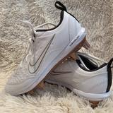 Nike Shoes   Nike Women'S Hyperdiamond 2 Pro Softball Cleats   Color: Gold/White   Size: 7