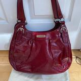 Coach Bags | Coach Madison Maggie Soho Hobo Hand Bag F19708 Red | Color: Red | Size: Height:10bag Depth:4 Bag Width 12