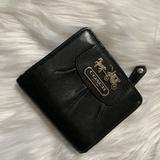 Coach Bags | Card Case | Color: Black | Size: Os