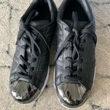 Adidas Shoes | Adidas Superstar 80s Metal Toe W Core Blk White | Color: Black | Size: 8