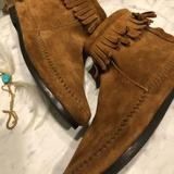 Rebecca Minkoff Shoes | Back Ziphard Sole Moccasins Bootie | Color: Brown | Size: 6.5