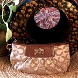 Coach Bags | Coach Madison Op Art Large Wristlet | Color: Brown/Tan | Size: Os