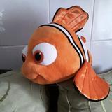 Disney Toys | Disney 17 Nemo Orange Fish Soft Plush | Color: Orange/White | Size: Osg